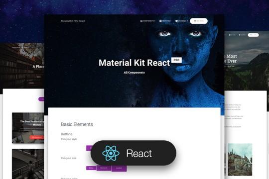 Material Kit Pro React