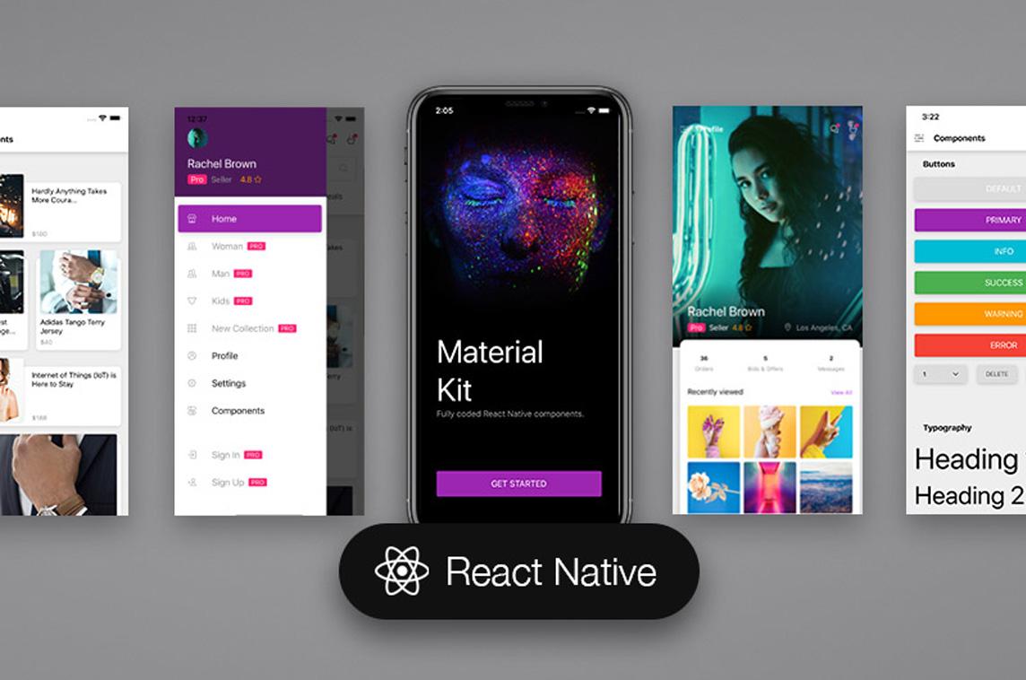 Material Kit React Native