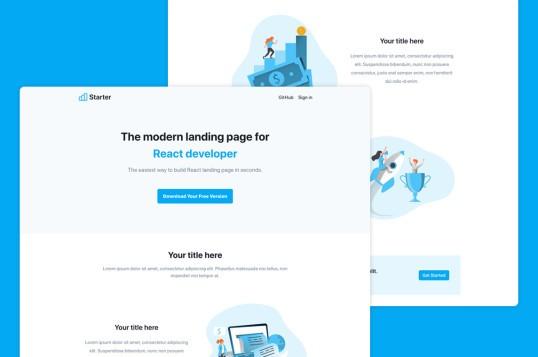 NextJS Landing Page Template