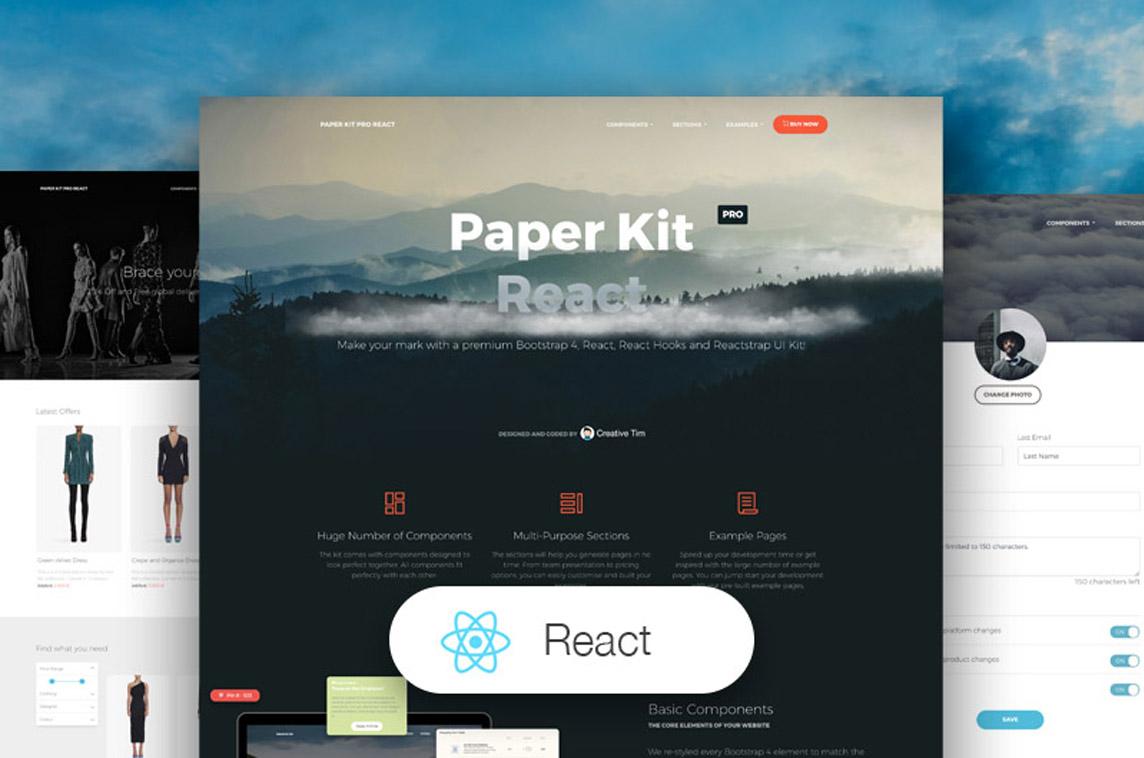 Paper Kit PRO React