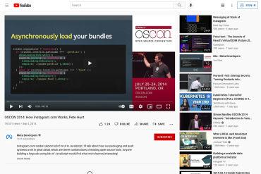 Pete Hunt: How Instagram.com Works - OSCON 2014