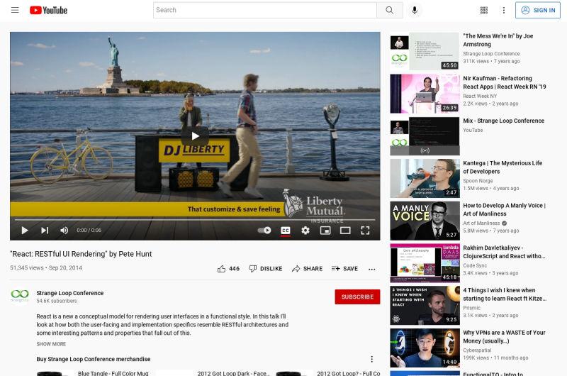 Pete Hunt: React RESTful UI Rendering - Strange Loop 2014