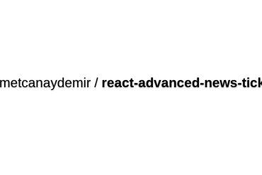 React-advanced-news-ticker