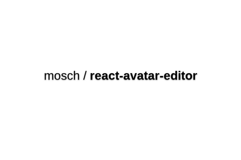 React-avatar-editor