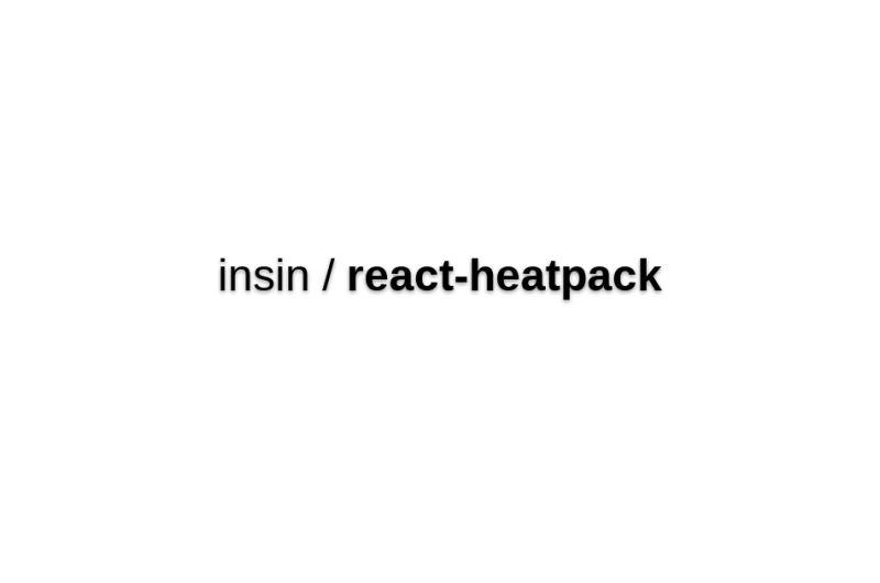 React-heatpack