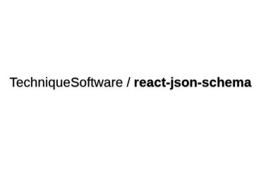 React-json-schema - Construct React Elements From JSON By Mapping JSON Definitions To React Components That You Expose.