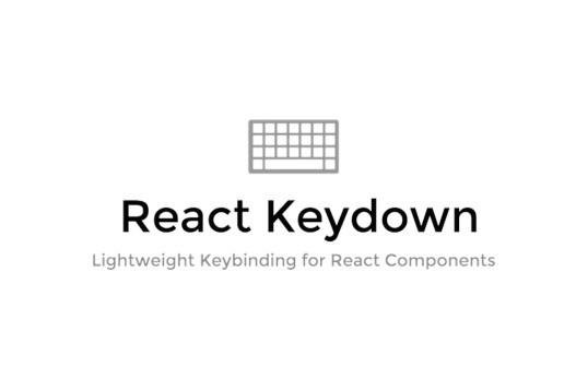 React Keydown