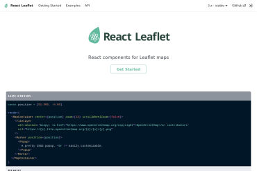React-leaflet - React Components For Leaflet Maps