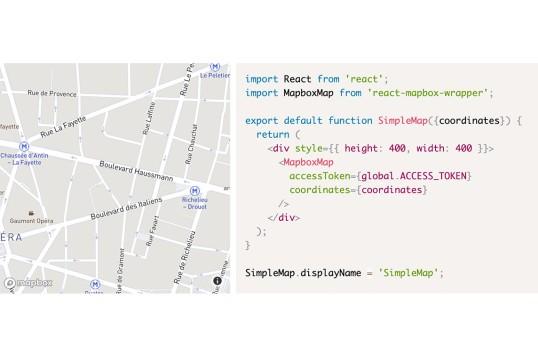 React Mapbox