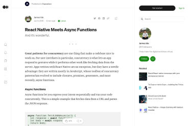 React Native Meets Async Functions