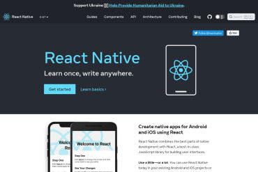 React Native Official Site