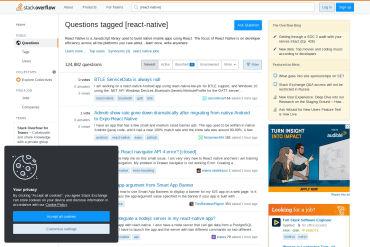 React Native StackOverflow