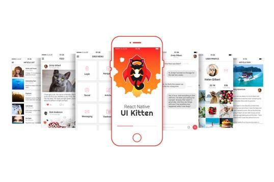 React Native UI Kitten