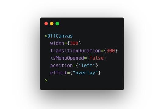 React Off-Canvas