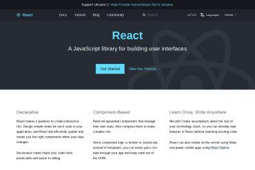 React Official Website