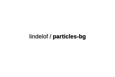 React-particles-bg