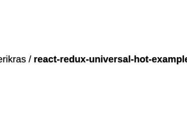 React-redux-universal-hot-example