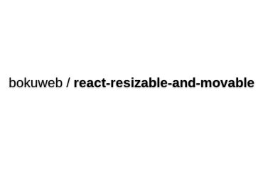 React-resizable-and-movable