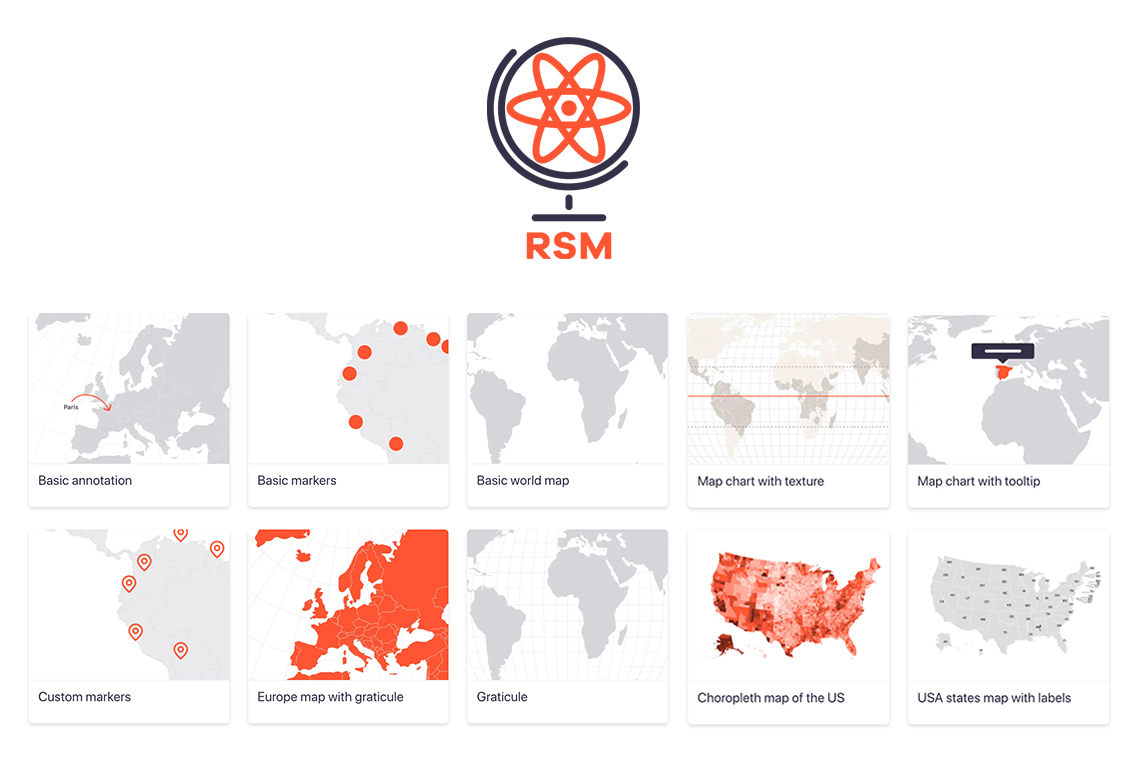 React Simple Maps