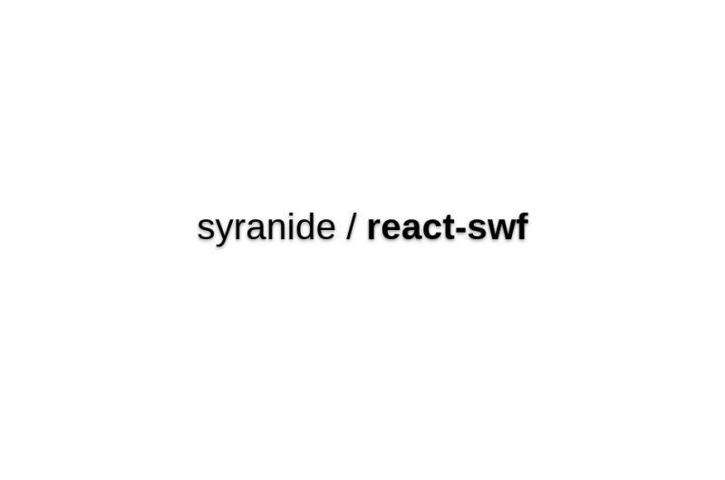 React-swf