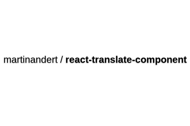 React-translate-component