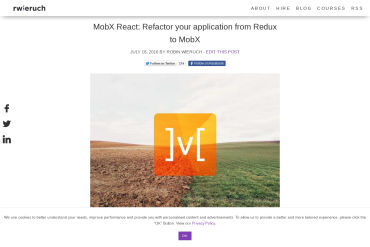 Refactor Your Application From Redux To MobX