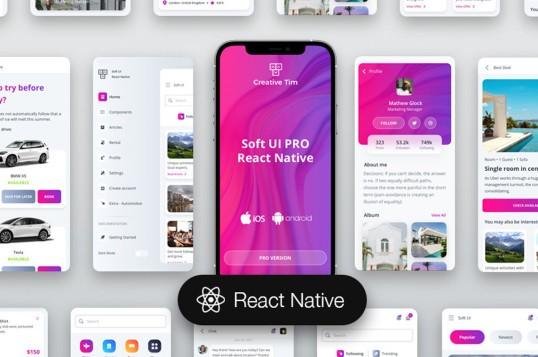 Soft UI PRO React Native