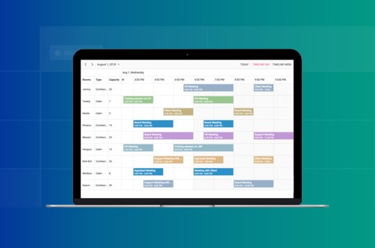 Syncfusion React Scheduler