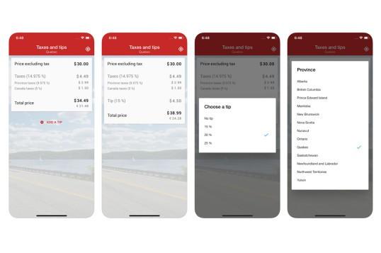 Taxes & Tips In Canada