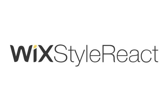 Wix Style React