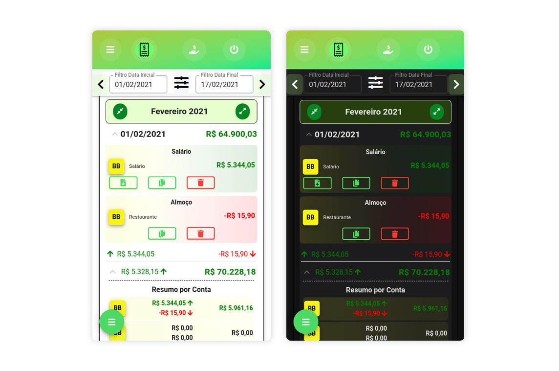 Finance Notes App