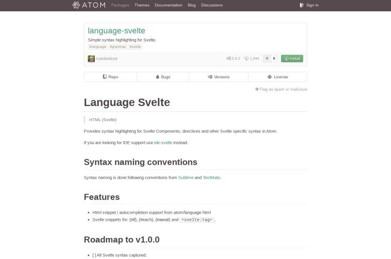 Language-svelte