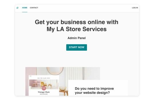 My LA Store Sveltekit Starter Template