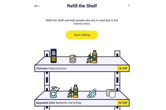 Refill The Shelf