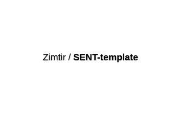 SENT-template
