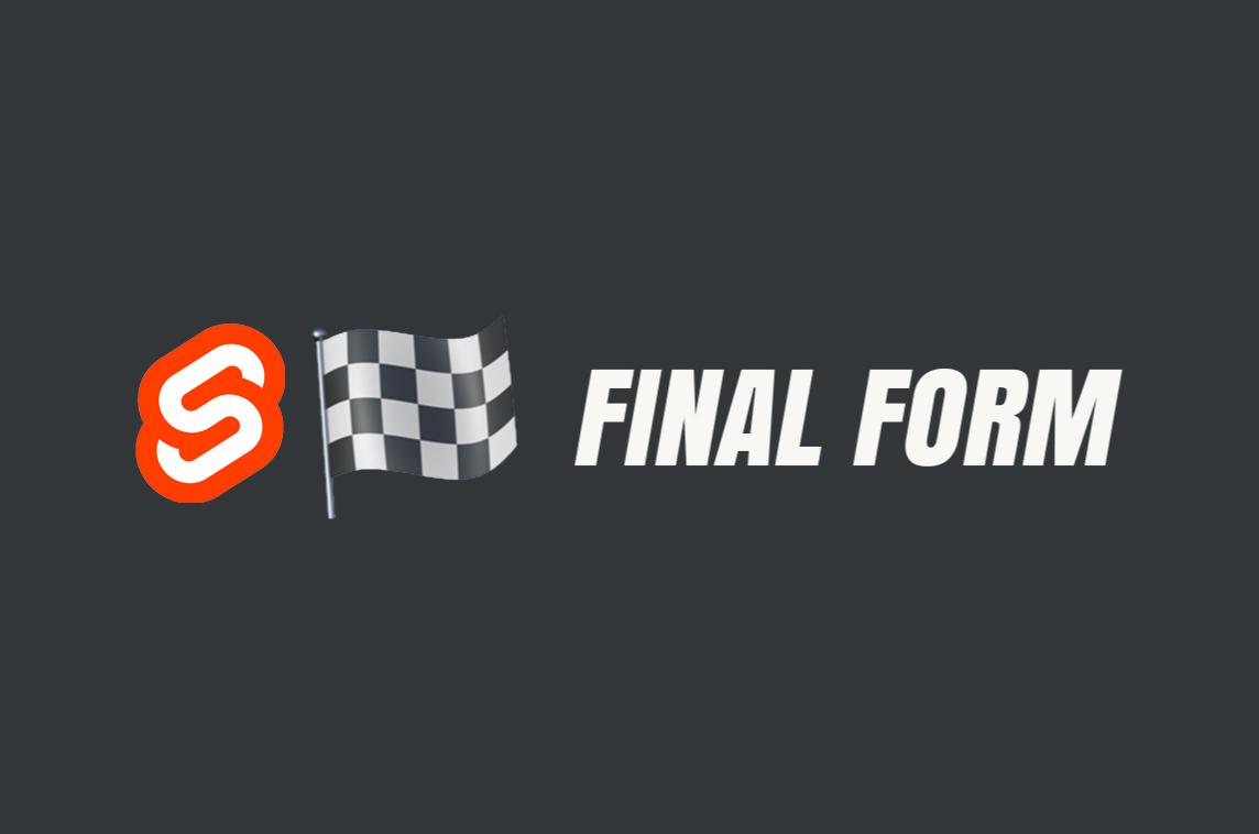 Svelte Final Form