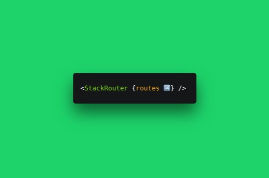 Svelte Stack Router