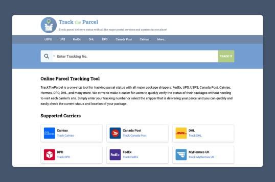 TrackTheParcel