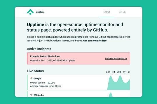 Upptime Status Page