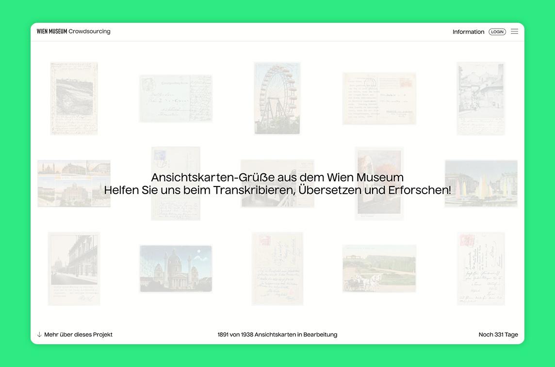 Wien Museum Crowdsourcing