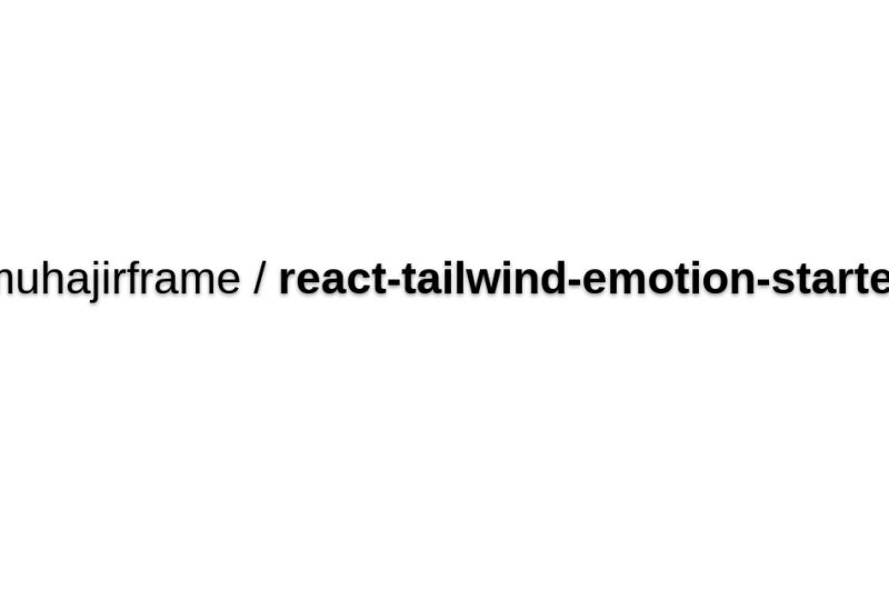 Create React App With EmotionJS
