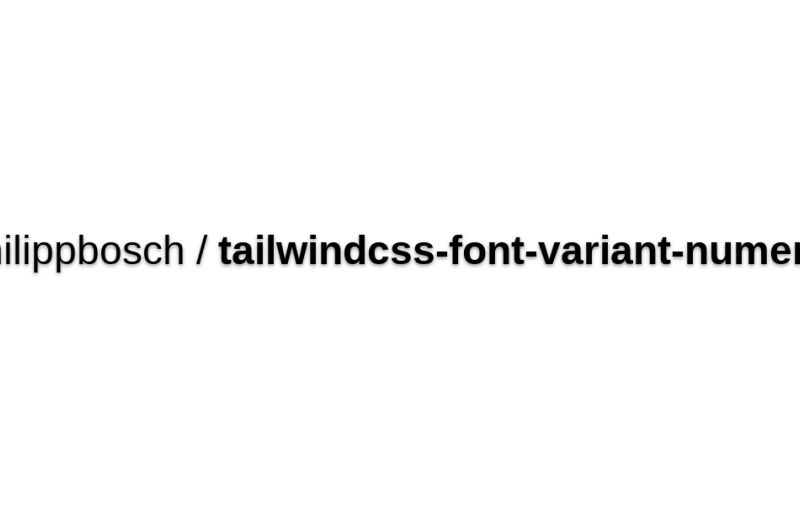 Font Variant Numeric