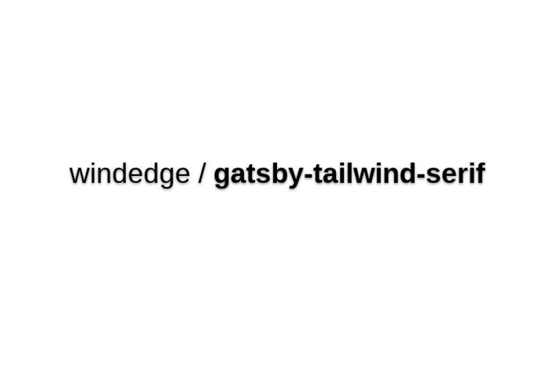 Gatsby Serif