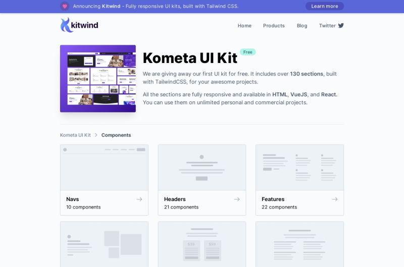 Kometa UI Kit