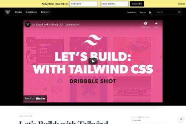 Let's Build: Dribbble Shot