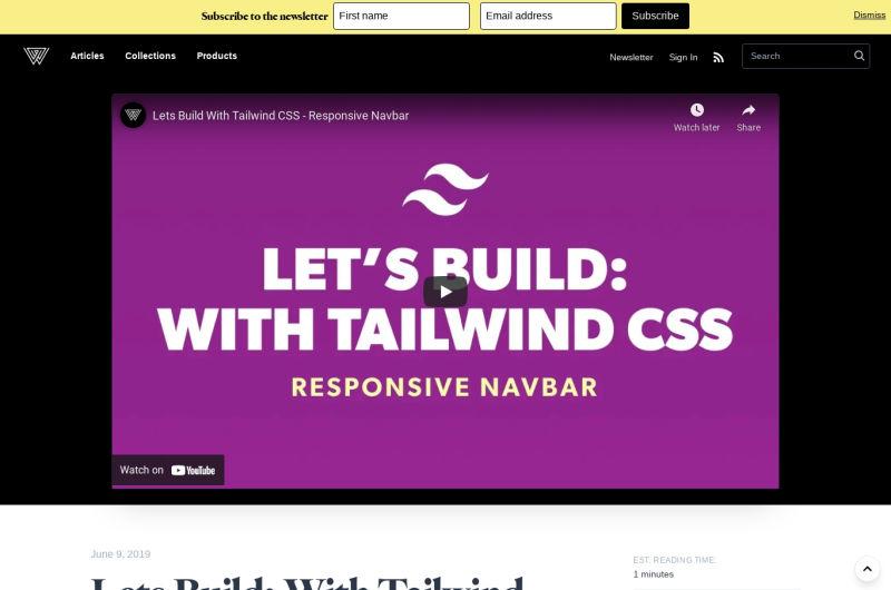 Lets Build: Responsive Navbar
