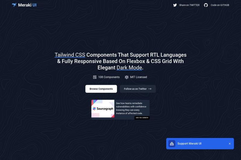 Meraki UI Components