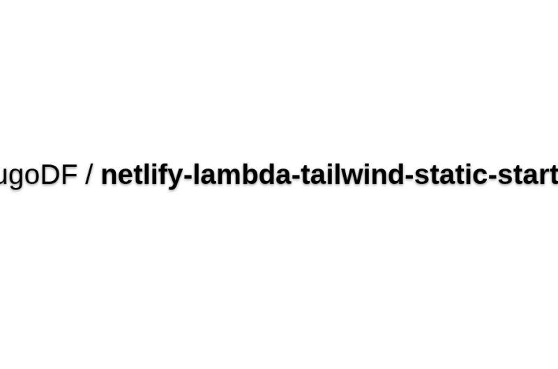 Netlify Lambda Starter
