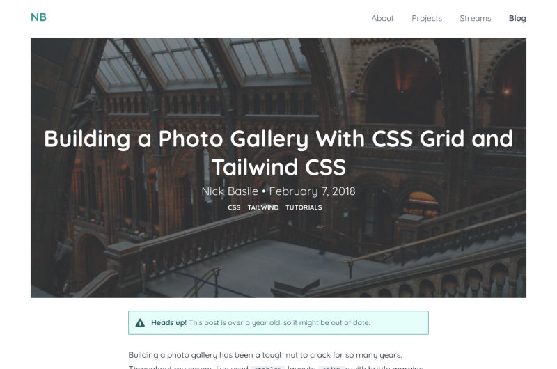 Photo Gallery With CSS Grids
