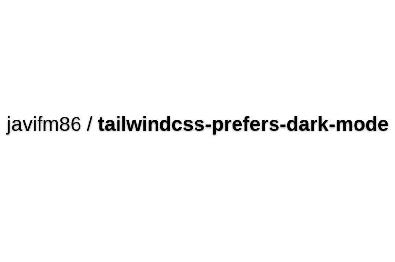 Prefers Dark Mode